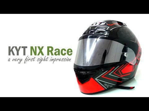 VLOG : Helm KYT NX Race, A Very First Impression