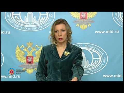 Мария Захарова комментирует обвинение Ильхама Алиева в адрес сопредседателей Минской группы