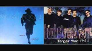 Larger Than Smooth Criminal( Michael Jackson VS The Backstreet Boys)( Masdamind Mashup)
