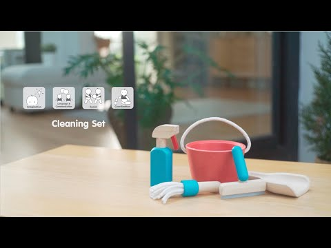 PlanToys | Cleaning Set