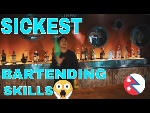 The greatest bartenders - Nepal ( The Bartenders Factory)