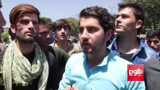 Zia Massoud Organizes Sit In Among Kabul Protesters