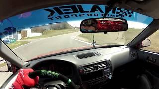 Honda Civic EK4 VTi na okruhu | POV | First Person ► by Berny