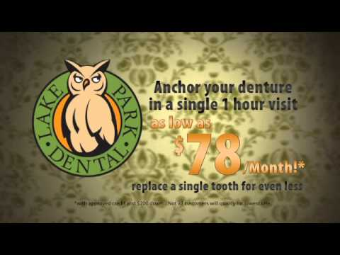 Affordable Dental Implants - Lake Park Dental Tampa Florida 813-960-9500