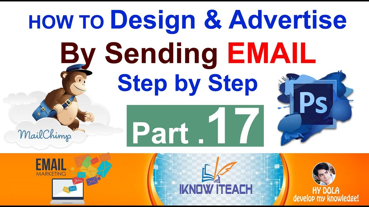 Part 17 18 Email Marketing Design Products Brochure Using Photoshop