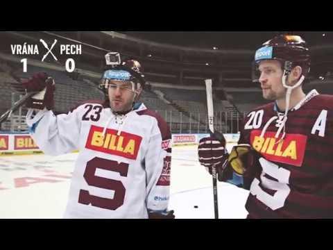 Souboj v hokejových dovednostech: Petr Vrána v. Lukáš Pech