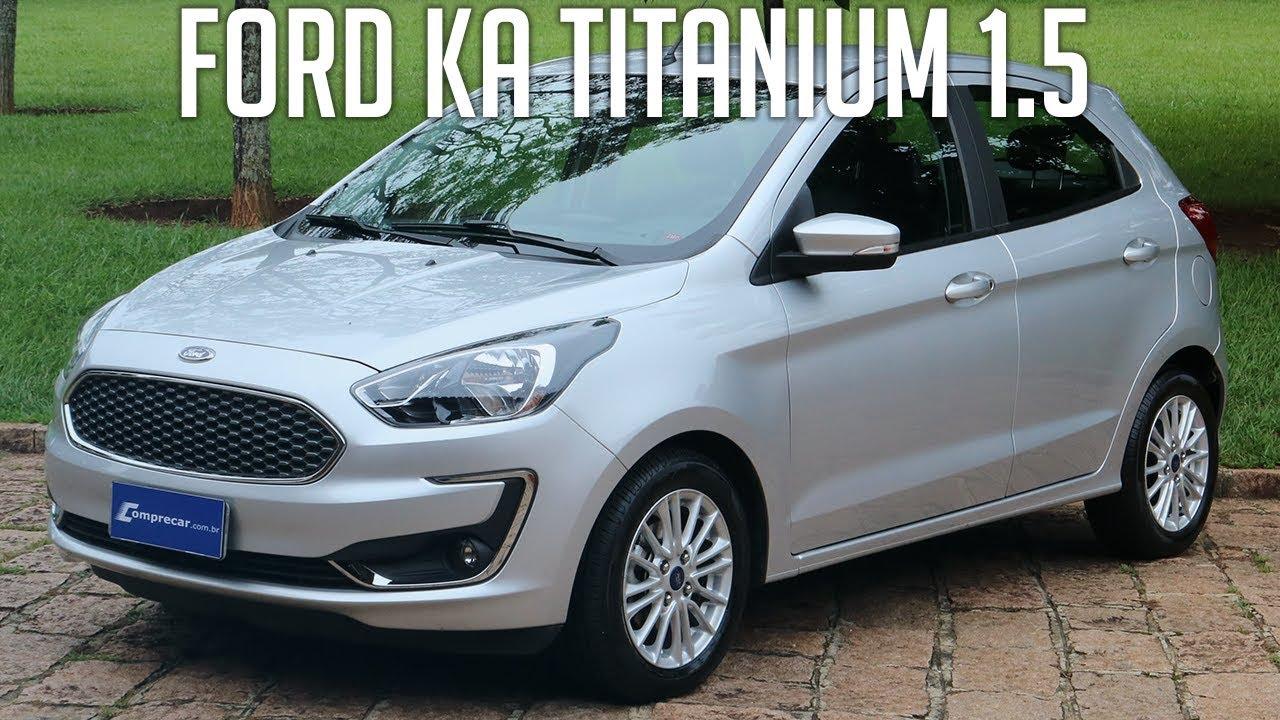 Avaliacao Ford Ka Titanium 1 5 Automatico Youtube