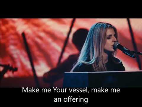 New wine by Hillsong with Lyric, led by Brooke Ligertwood