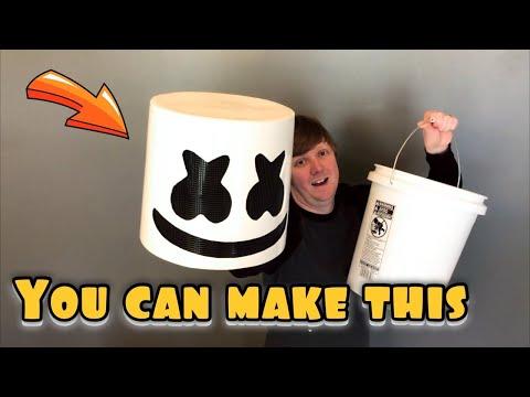 Marshmello Helmet DIY