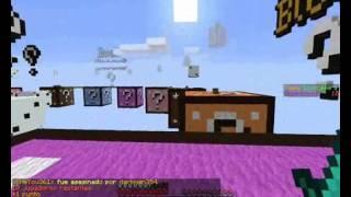 Minecraft: Sky war Ep1  Ljudi nas pobiše!