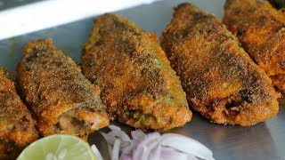 घरगुती बांगडा / Bangda / Mackerel Rava Fry Recipe in Marathi