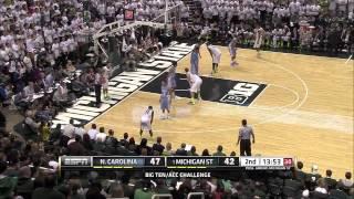 North Carolina @ #1 Michigan State (12/4/13) B1G/ACC Challenge