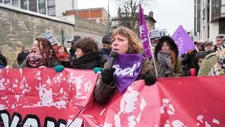 Manifestation du travail social (14 février 2018, Paris)