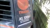 HVAC: trane XE1000 condensing unit ,blowing fuse,high inrush