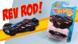 Hot Wheels The Origin of Awesome Rev Rod Orange Track Pooper