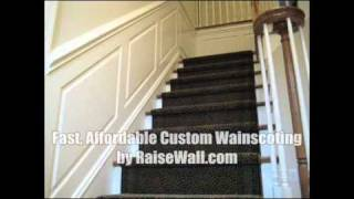Stairs Wainscoting Panels
