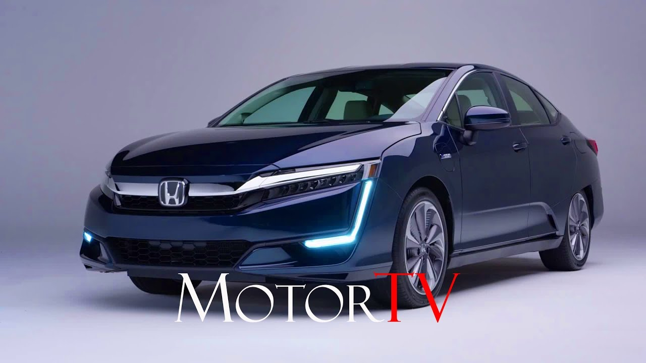 new 2018 honda clarity plug in hybrid electric l exterior interior l studio shots youtube. Black Bedroom Furniture Sets. Home Design Ideas
