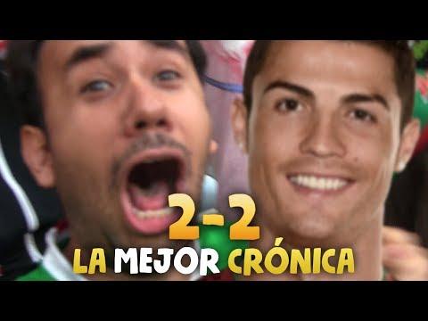 PORTUGAL 2 - 2 MEXICO  - LA MEJOR CRÓNICA COPA CONFEDERACIONES 2017