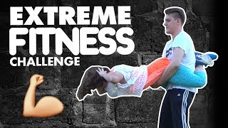 COUPLE GOALS: Fitness Challenge | Mashin'theBeauty & Dennis Domian w/ hypeUP