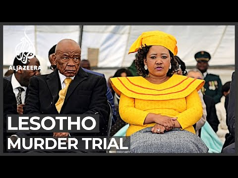 Lesotho murder trial: Prime minister's wife appears in court