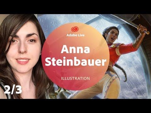 Anna Steinbauer / Illustration - Adobe Live 2/3