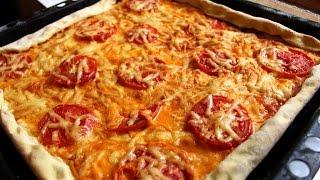 Пицца! ВЕГЕТАРИАНСКАЯ ИТАЛЬЯНСКАЯ ПИЦЦА! Pizza! VEGETARIAN ITALIAN PIZZA!