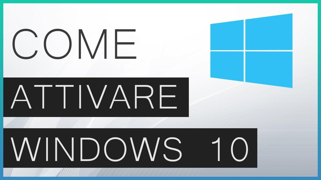 Windows 10 activator KMS crack loader - Tutorial Come Attivare Windows 10  con KMS 2018