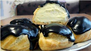 Масляный крем со сгущенным молоком для заварных пирожных