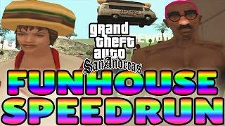 GTA San Andreas FUNHOUSE Any% Speedrun