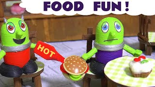 Food Prank With The Funny Funlings Pretend Play Food By Rascal Funling At The New Tea Room Tt4u