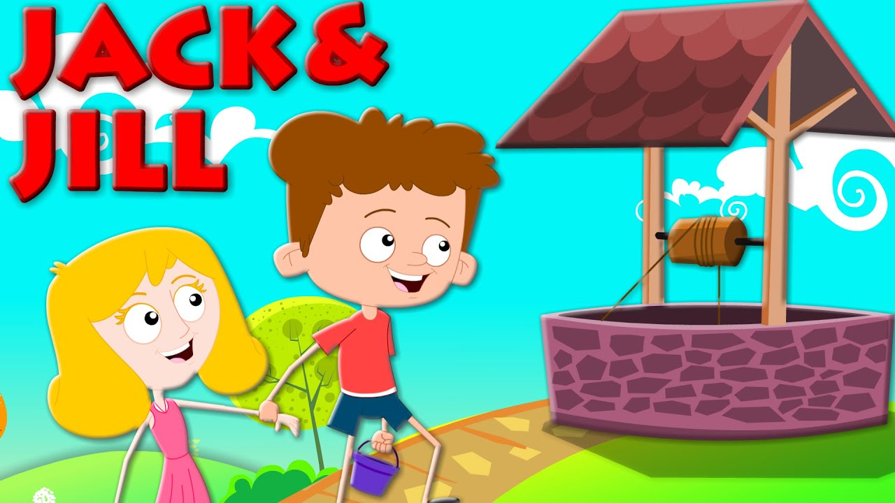 Jack and Jill Nursery Rhyme | Songs And Poems For Kids and ...
