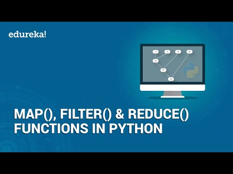 Map, Filter, Reduce Functions in Python | Python Built-in Functions Explained | Edureka thumbnail