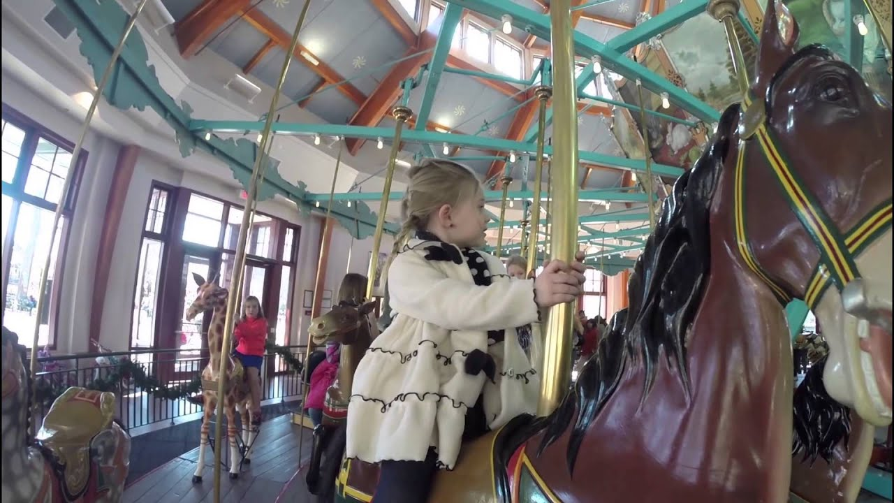 Pullen Park Train and Carousel