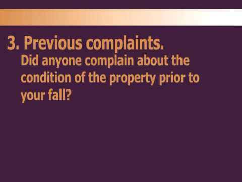 Jebaily Law Firm - Slips and Falls