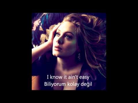 Adele - One and Only Türkçe Altyazı (Turkish-English Sub.)
