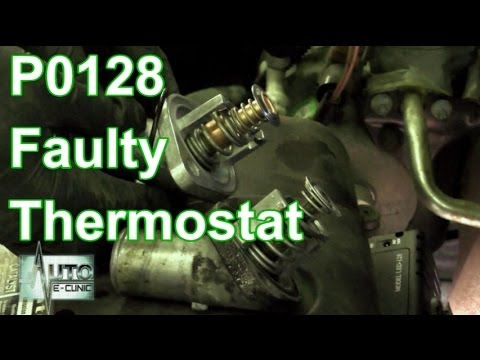 How To Diagnose A P0128 - A Faulty Thermostat
