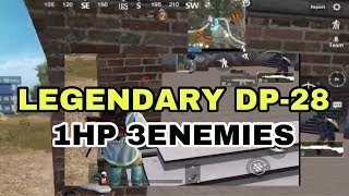 Worst Situation ever. Legendary DP-28 | PUBG MOBILE