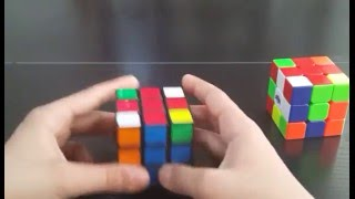 3×3 küp yapımı - Sade ve yavaş anlatım