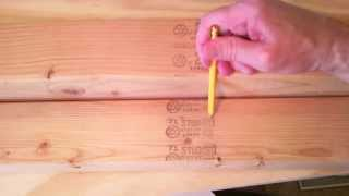 Lumber Grade Stamps And Codes - What Do They Mean?