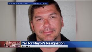 Calls Mount For Stockton Mayor To Resign Amid Strip Poker Allegations