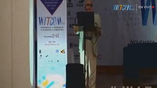 Conferencia del Dr Alfredo Jalife en WITCOM del IPN en Mazatlan