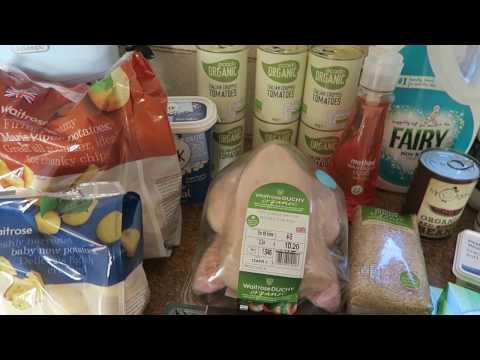 Grocery Haul Ocado April