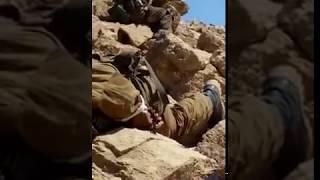 Российские солдаты берут высоту в Сирии. Russian soldiers in Syria