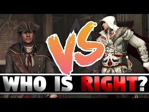 Assassins Creed - Assassins Vs Templars (Who is Right?)