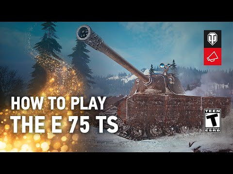 How to Play the E 75 TS [World of Tanks]