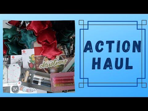 Action ❂ [Haul] ❂ September #2 2020 ❂ Weihnachtsblöcke ❂ Kreativ Im Leben