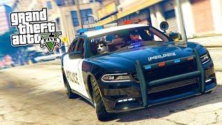 GTA 5 Игра за Полицейского #9 - ПАТРУЛЬ С СОБАКОЙ!! (ГТА 5 РП МОДЫ LSPDFR)