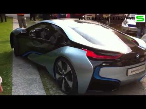 BMW i8 Concept driving
