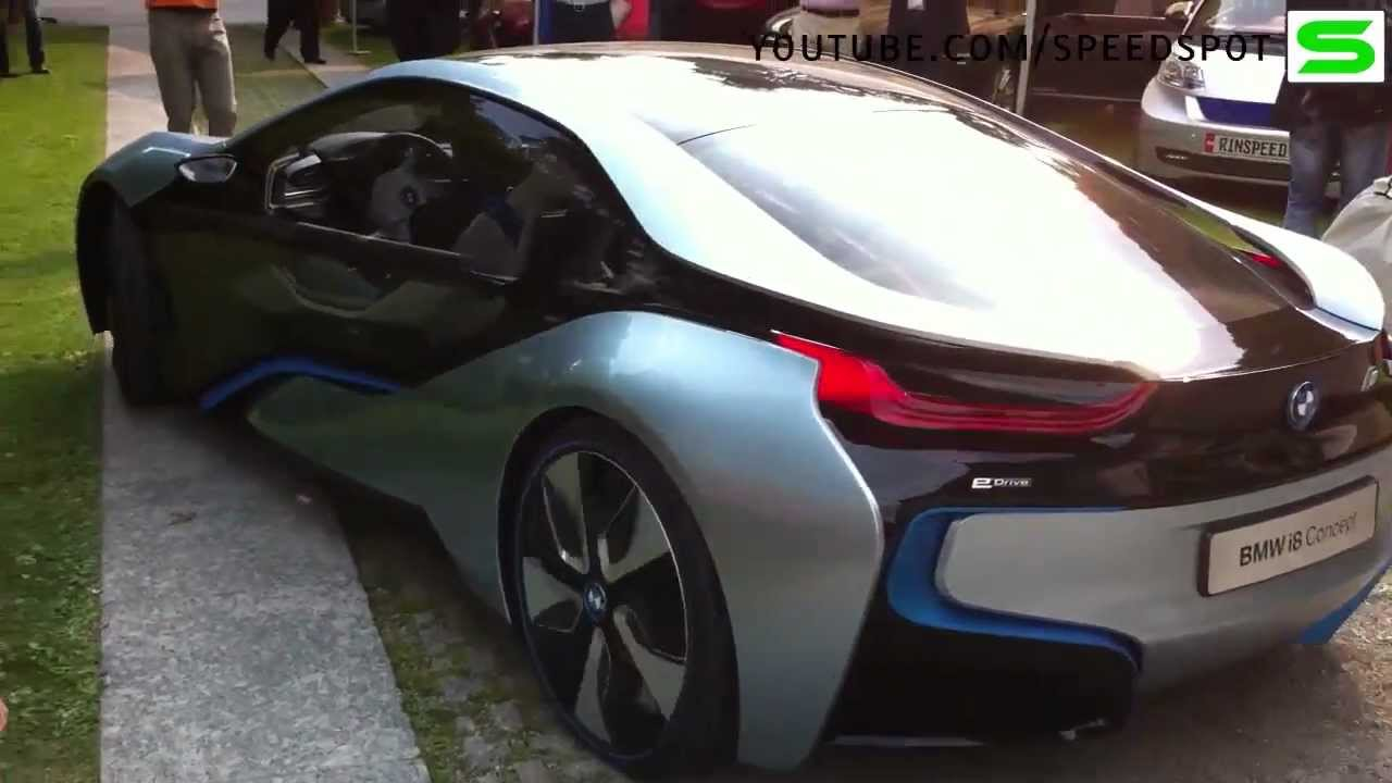 Bmw I8 Concept Driving Youtube