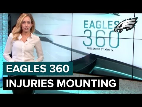 Injuries Mounting For Eagles | Eagles 360 Ep. 41 | Philadelphia Eagles